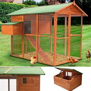 Poulailler volière Duplex XXL 10 poules