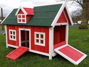 maison poule pas cher